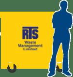 RTS Waste Management 1100 litres waste bins