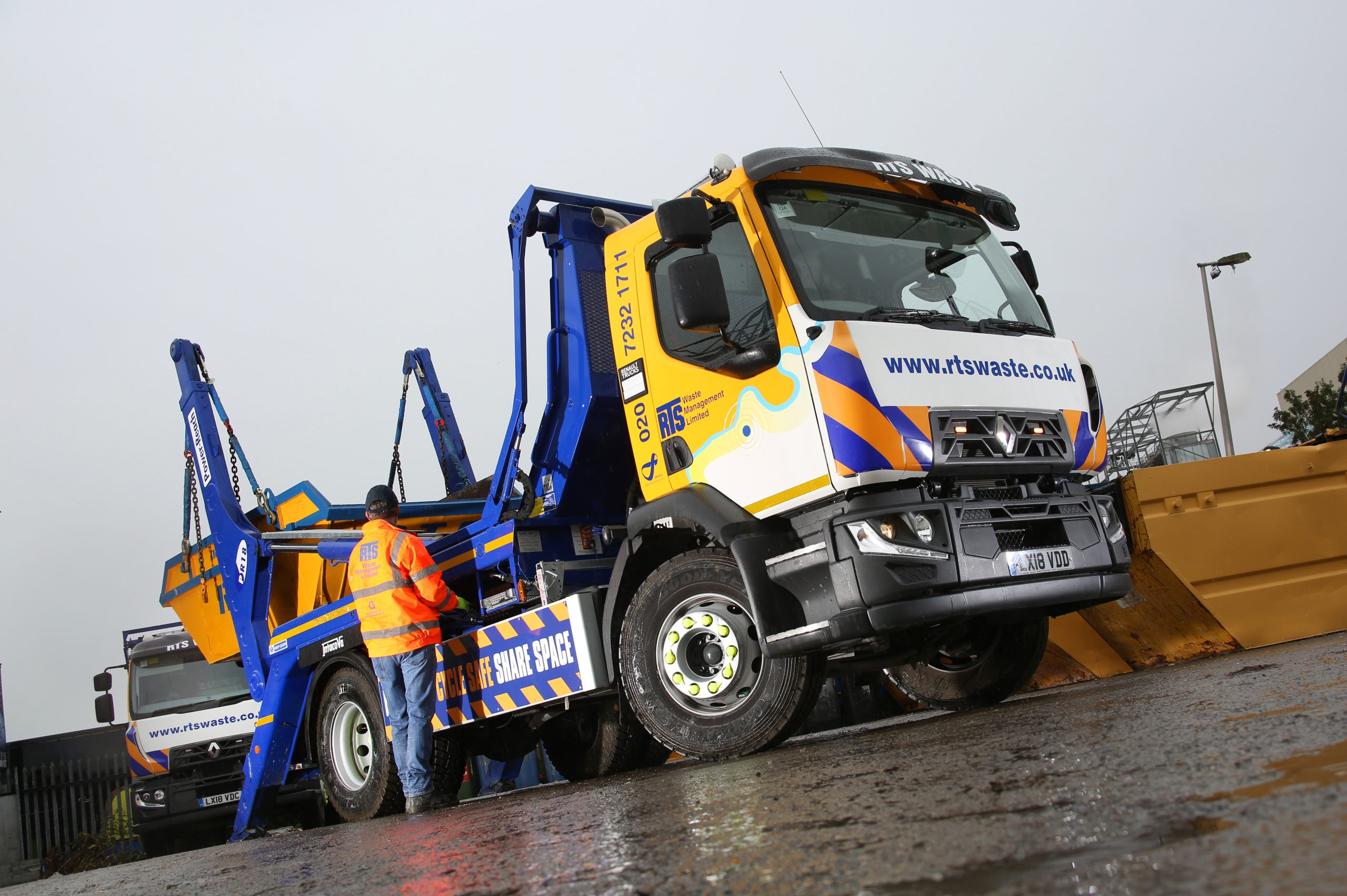 RTS Waste Skip Lorry